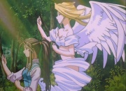 Belldandy and Holy Bell