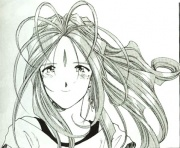 Belldandy from the Manga